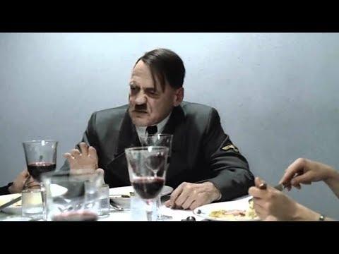 """Hitler se entera del tema """"cómeme el donut"""""""