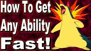 How To Get Any Ability You Want in Pokemon Omega Ruby and Alpha Sapphire With Powersaves