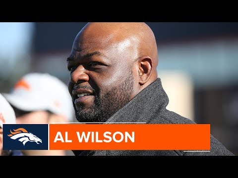 Former Broncos LB Al Wilson Watches Practice: 'Brought Back Some Good Memories'