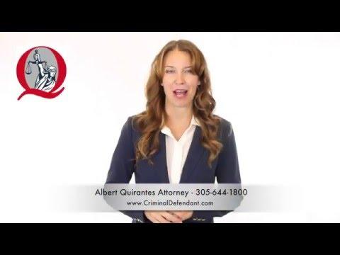 Miami Criminal Defense Lawyer Albert Quirantes Criminal Attorney in Florida