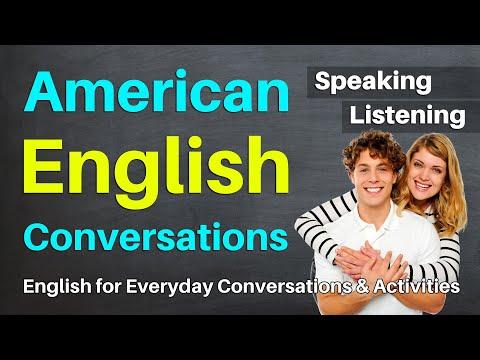 American English Conversations to Improve Listening & Speaking Fluency | English Conversation