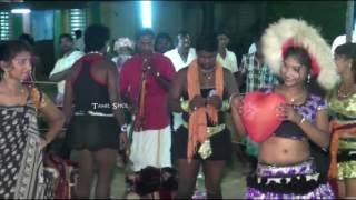 Karakattam Tamil village festival double meaning hot dance