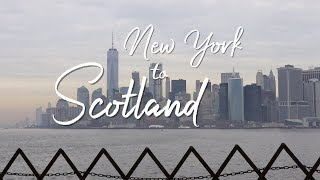 New York to Scotland! | Ready to leave & tired first hours in Edinburgh!
