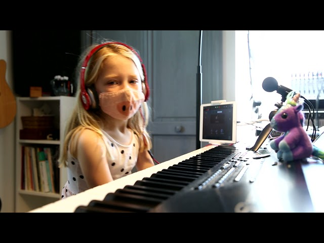 Delilah Maia perform Bastien's Piano Party A Songs