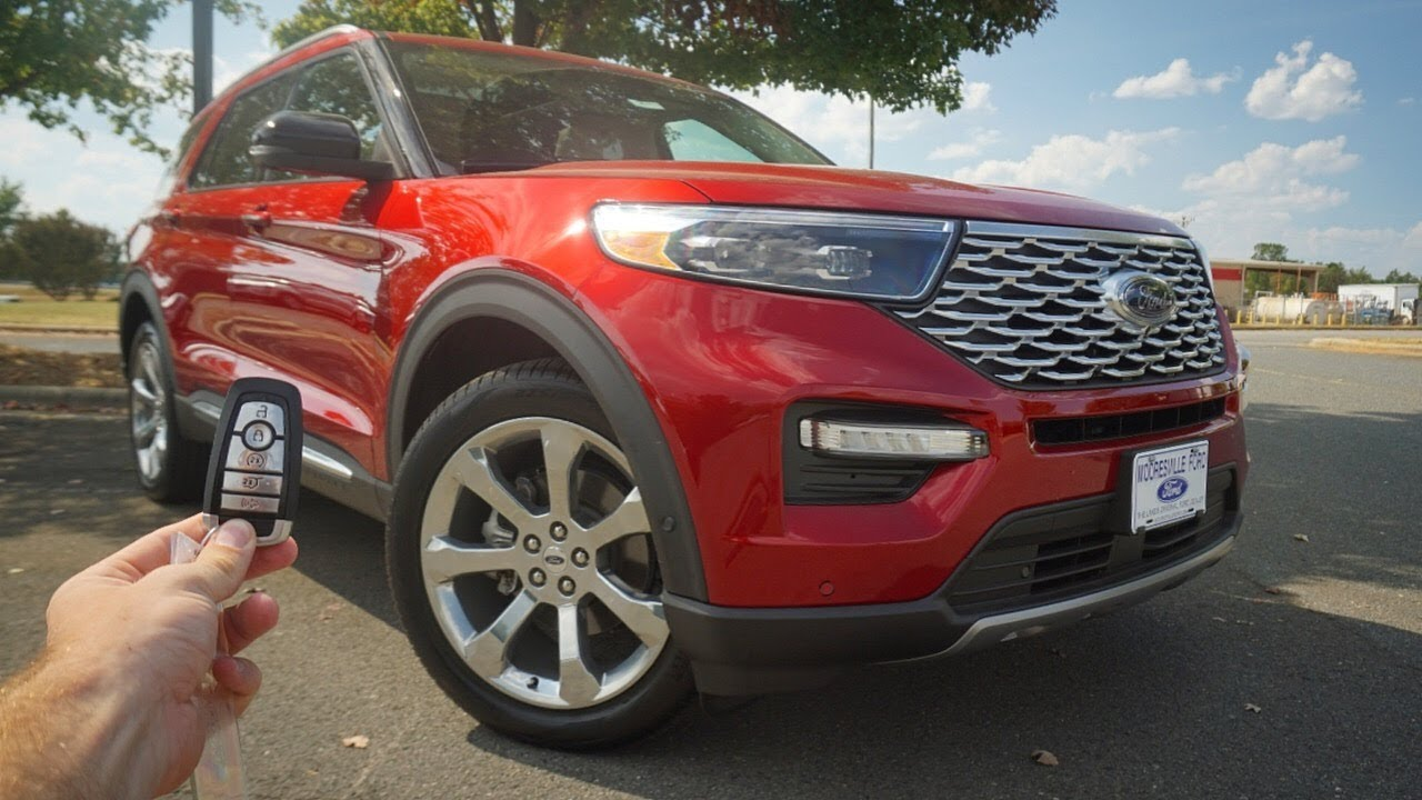 2020 Ford Explorer Platinum Start Up Test Drive Walkaround And Review