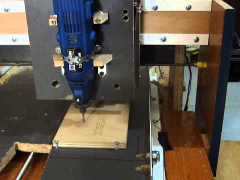 Homemade CNC table router Greece