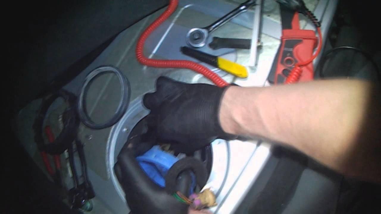 Audi B5 Fuel Pump Removal Youtube