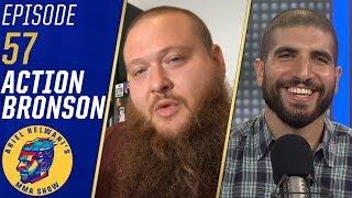 Action Bronson talks MMA fandom, relationship with Israel Adesanya | Ariel Helwani's MMA Show