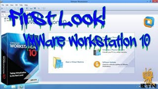 First Look! - VMware Workstation 10 :: Review :: Configuration and Installation