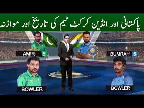 Comparison of Indian & Pakistani Cricket Team | Champions Trophy 2017