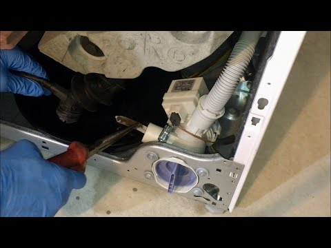 Bosch Washing Machine Drain Pump Filter Stuck - Avantixx Vario Perfect Eco Silence Drive