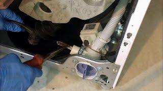 Застрял Фильтр сливного насоса стиральной машины Bosch