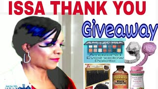 THANK YOU GIVEAWAY | **Closed** TO ALL SUBSCRIBERS | 5 CATEGORIES & 1 WINNER | whoIsJasmineblack