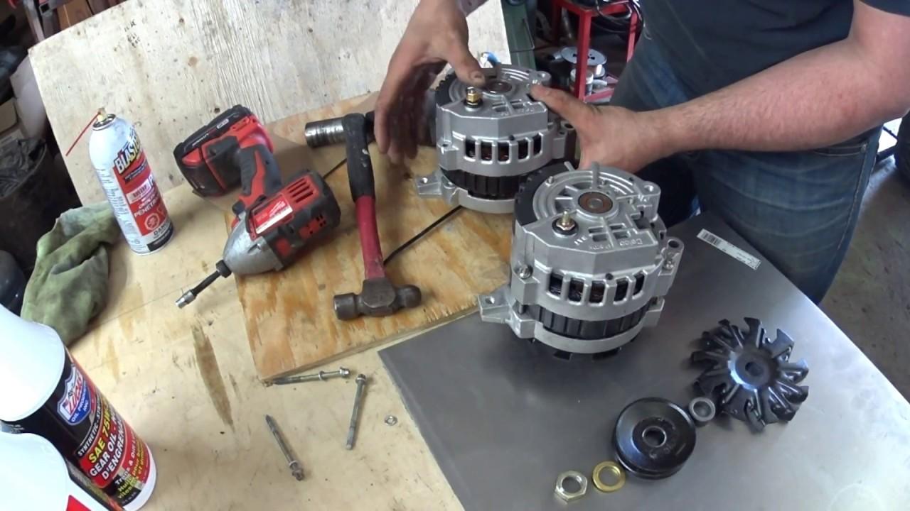how to r&r and clock a gm alternator on your suzuki samurai