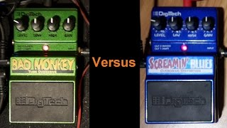 Bad Monkey Versus Screamin