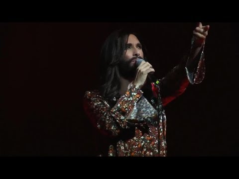 Conchita - HOPE-Gala, Dresden, 28.10.2017