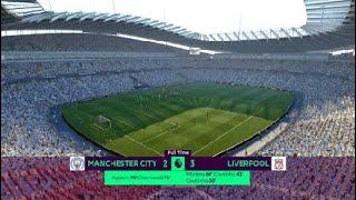 Liverpool VS Manchester City [3-2] FIFA17 GAMEPLAY