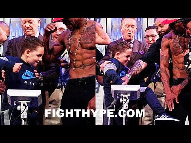 wtf-billy-joe-saunders-son-punches-willie-monroe-jr-right-in-the-nuts-kicks-him-too-at-weigh-in