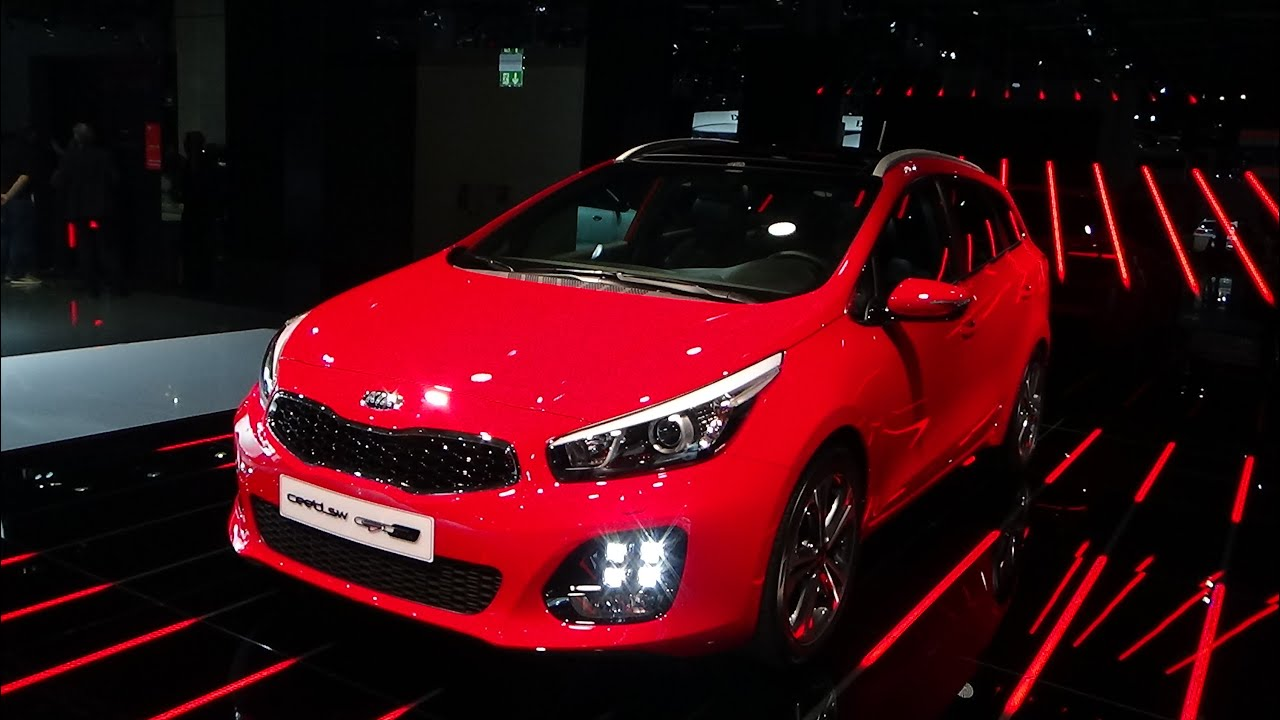 2016 kia cee 39 d sw gt line exterior and interior iaa 2015 youtube. Black Bedroom Furniture Sets. Home Design Ideas