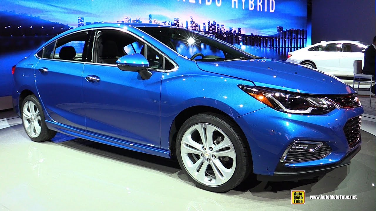 2017 Chevrolet Cruze - Exterior and Interior Walkaround - 2016 Detroit Auto Show - YouTube