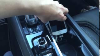 Volvo XC90 II iPhone-Halter - so einfach geht's