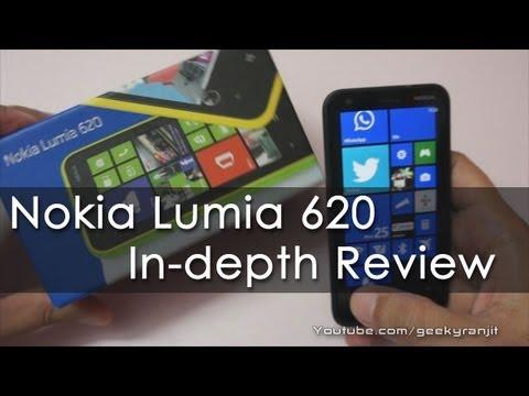 Nokia Lumia 620 Windows Phone 8 Full In-depth Review