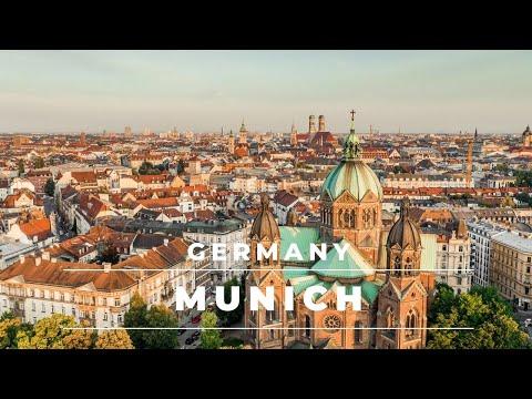 Munich Germany by drone 4k - DJI Mavic 2 Pro | Germany Travel