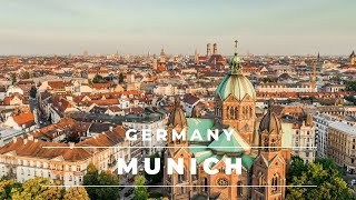 Munich Germany by drone 4k - DJI Mavic 2 Pro | Ger...