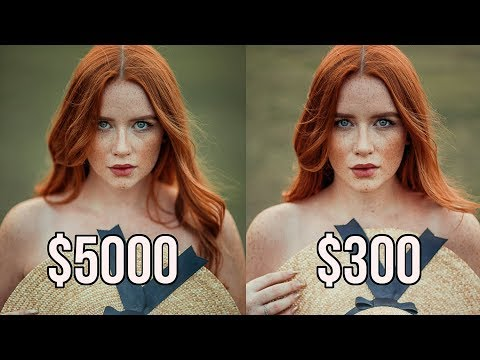 $300 Vs $5000 Photography Setup