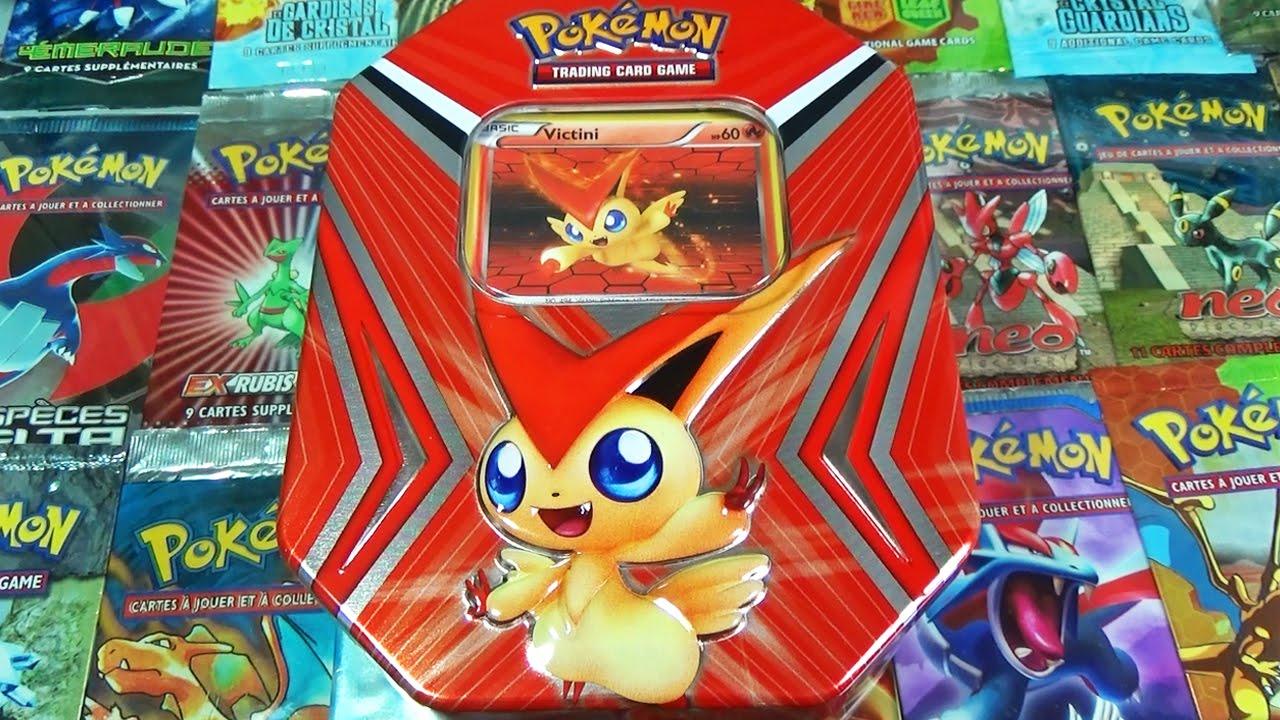 Ouverture de la pok box victini le pok mon l gendaire de - Pokemon legendaire blanc 2 ...