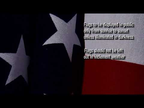The Dos And Don'ts Of Flying Your American Flag