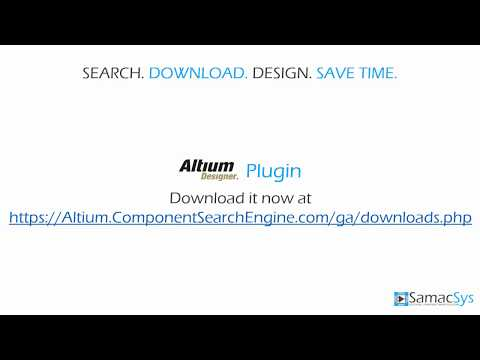 Altium Libraries Plugin - YouTube