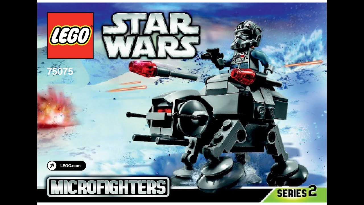 Lego 75075 At At Instructions Lego Star Wars 2015 Microfighters