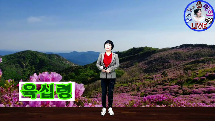 #육십령#가사첨부#정동원 신곡#김민경의음악여행#하늘여행예술문화#트로트#대중음악#김민경TV#