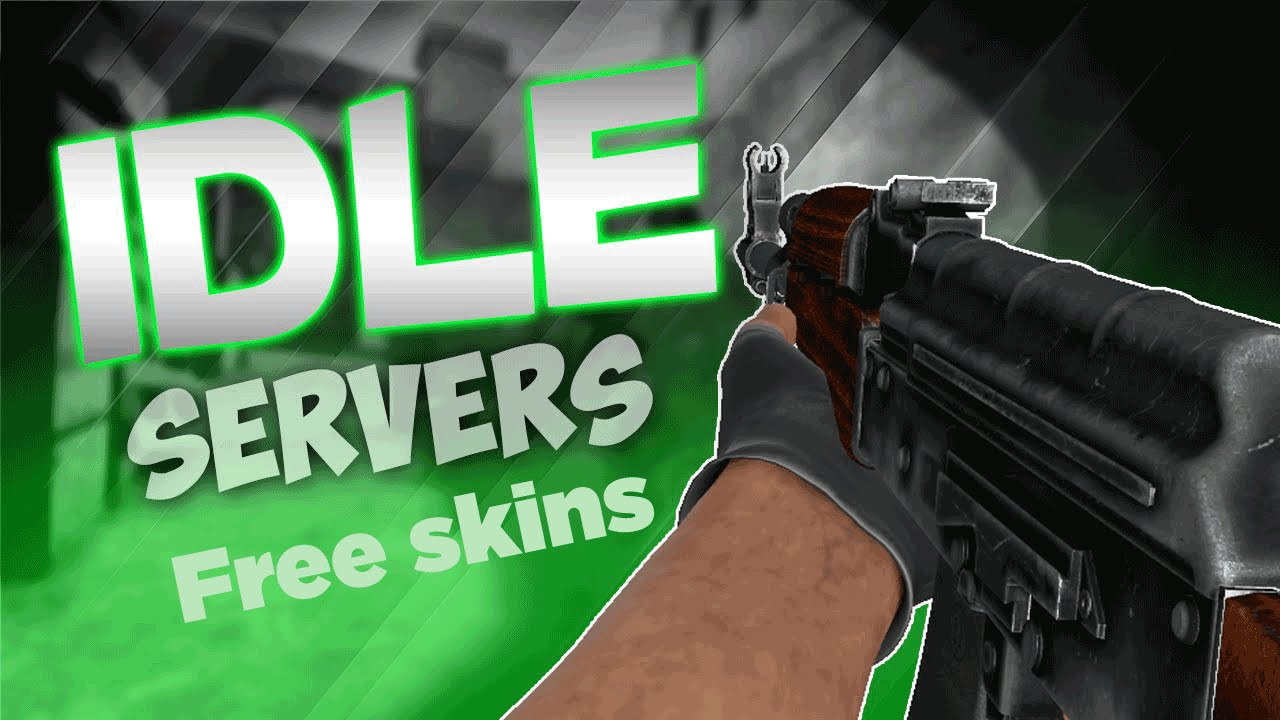 How To Get Free Skins/Drops (Idle Servers) (CS:GO)