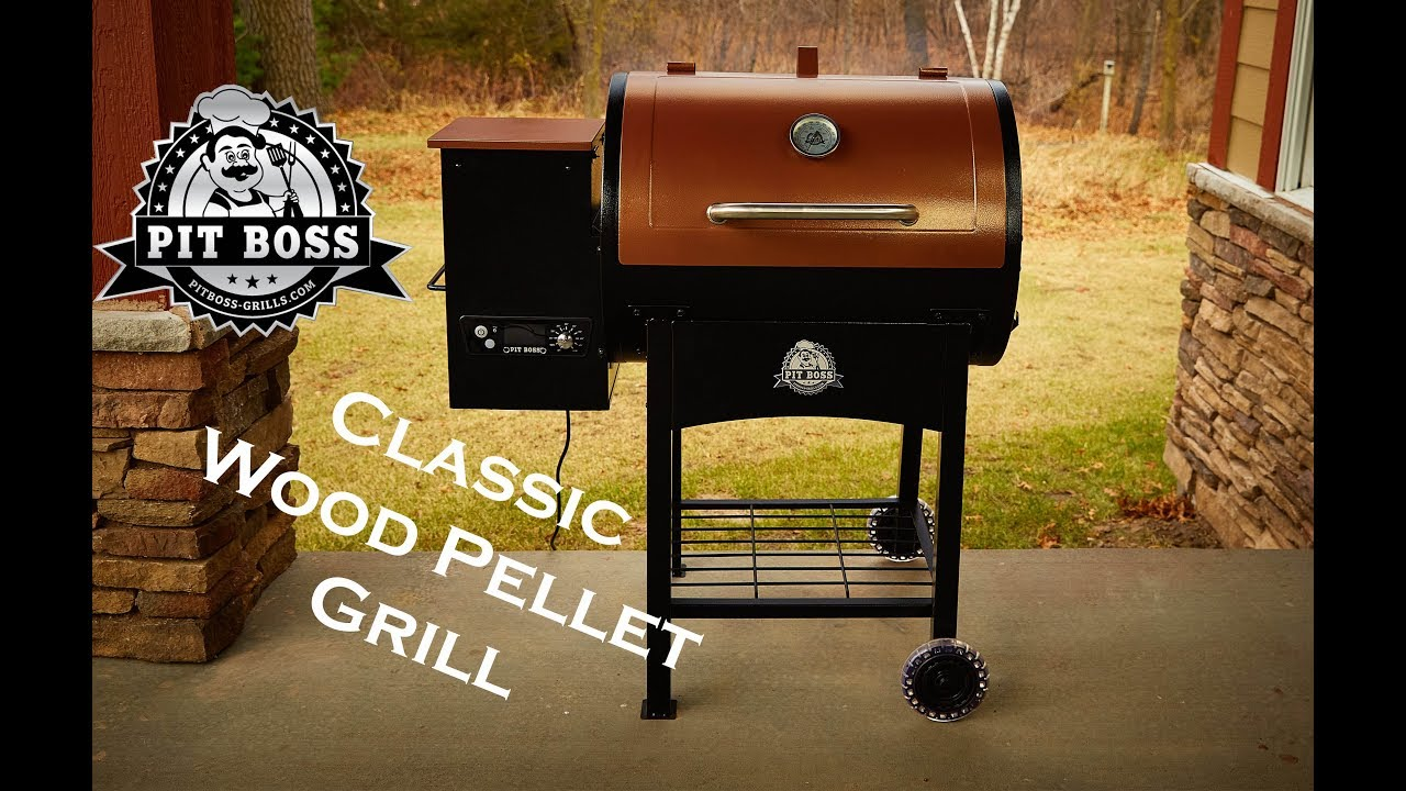 Pit Boss Classic Wood Pellet Grill Youtube