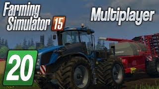 Zagrajmy w Farming Simulator 2015 na multiplayer #20 - Prace po całości... :D