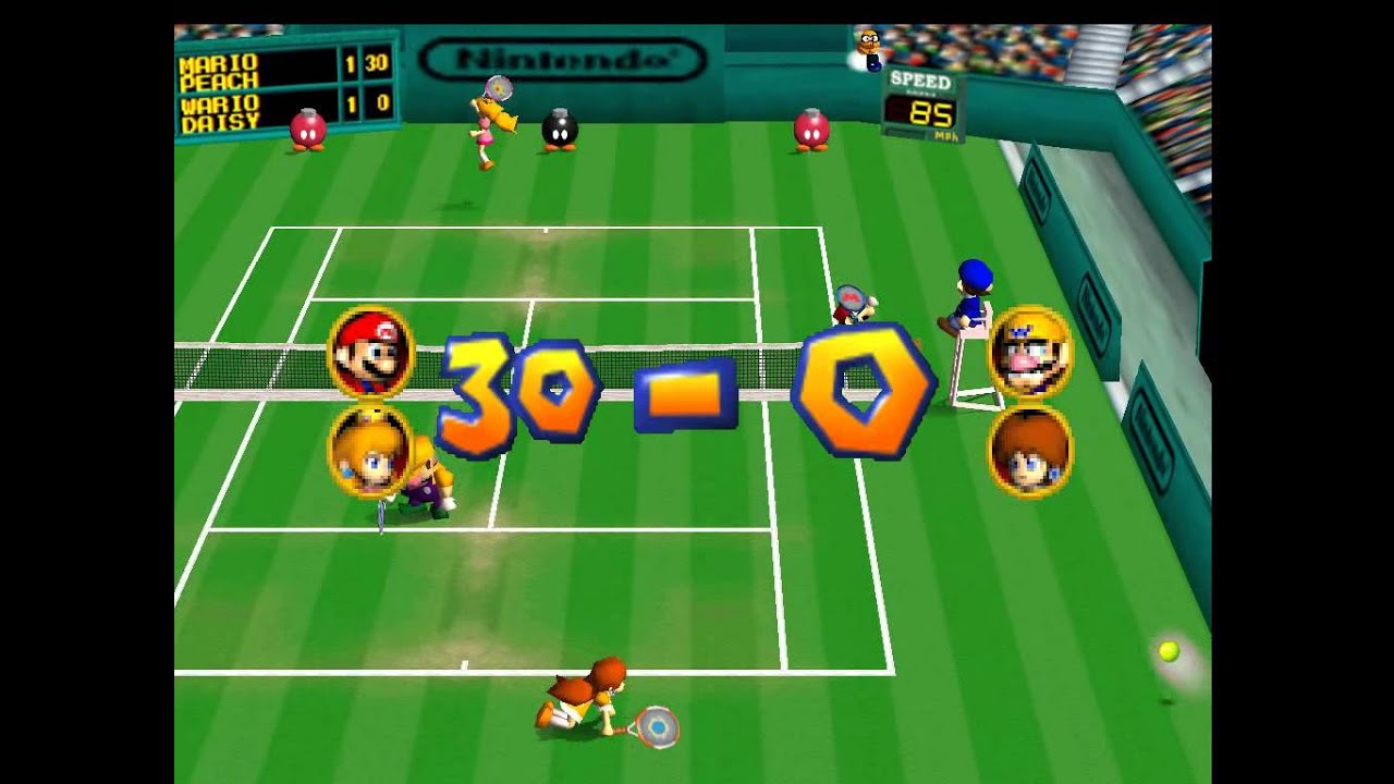 Games Like Mario Tennis Power Tour