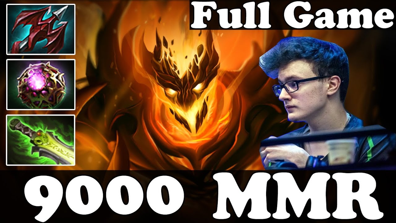 miracle 9000 mmr plays shadow fiend full game pub match