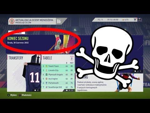 JAK KOŃCZY SIĘ KARIERA W FIFA 18 (2032) ?   FIFA 18 TRYB KARIERY