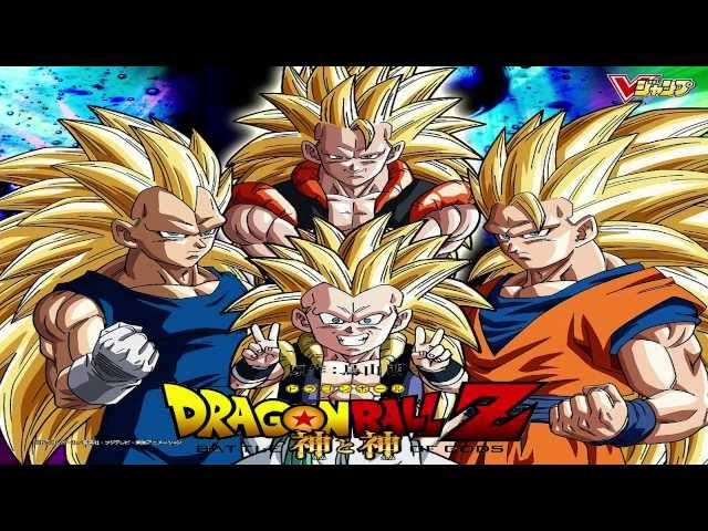 Dragon Ball Z - Battle of Gods Movie 2013 New Super Saiyan 3 Fusion & More!? Travel Video