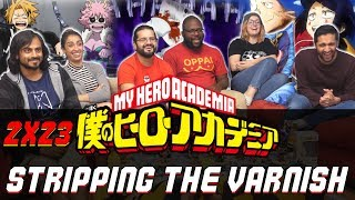 My Hero Academia - 2x23 Stripping the Varnish - Group Reaction