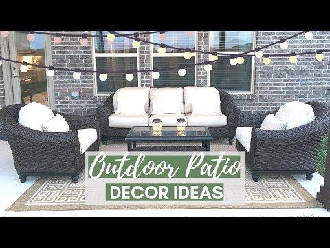 Outdoor Patio Decorating Ideas + Tips