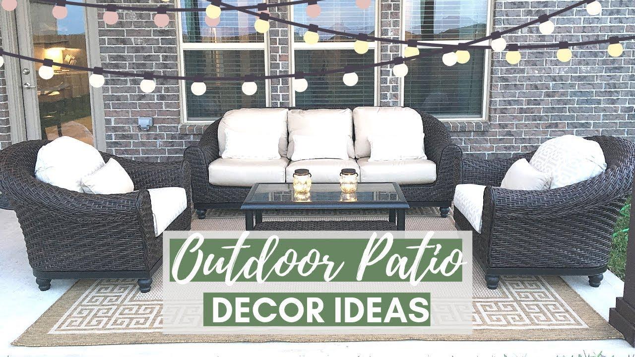 outdoor patio decorating ideas tips