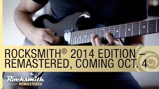 Rocksmith 2014 Edition Remastered: Coming Oct. 4 2016 [US]