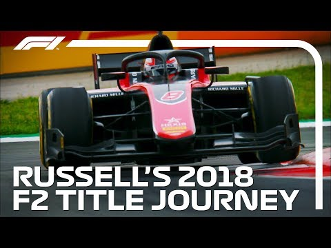 George Russell's Path to Glory   2018 FIA Formula 2 Championship