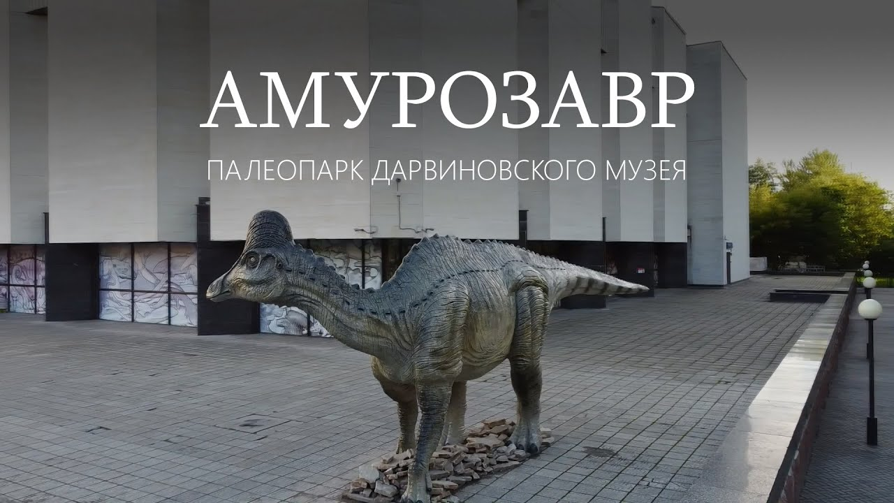 Амурозавр Рябинина. Палеопарк Дарвиновского музея. Ярослав Попов