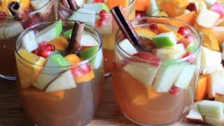 Sparkling Thanksgiving Punch Recipe