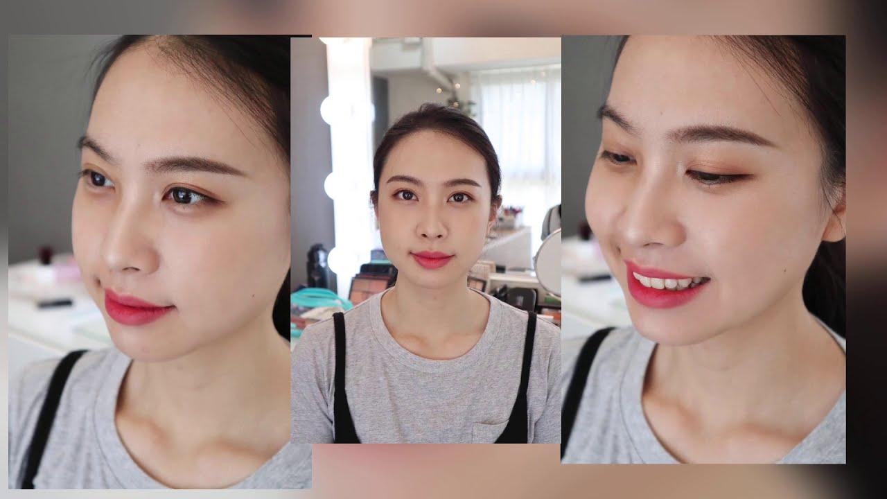 個人彩妝教學過程短片分享^^/高雄一對一個人彩妝教學『WINN小閔妝髮造型工作室』