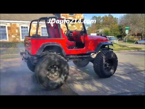95 jeep wrangler cammed 6.0 4x4 swap